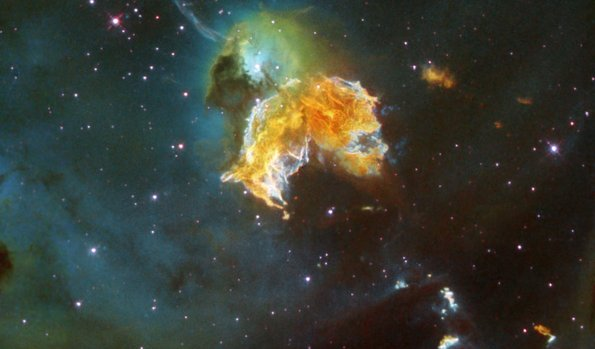 Supernova Remnant. Image Credit: NASA/ESA/HEIC and The Hubble Heritage Team