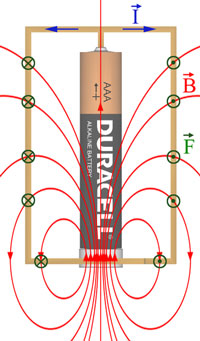 Homopolar Motor Forces