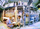 The particle decelerator in the ATHENA project at CERN (photo courtesy of CERN)