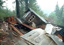 Damage from the 1989 Loma Prieta earthquake in California