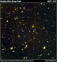 The Hubble Ultra Deep Field Image