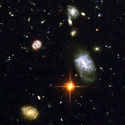 Another closeup from the Hubble Ultra Deep Field