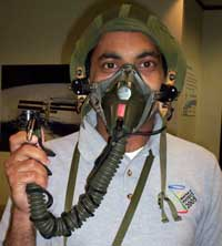 Me with my oxygen mask