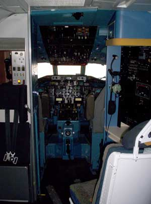 C-9 Flight deck