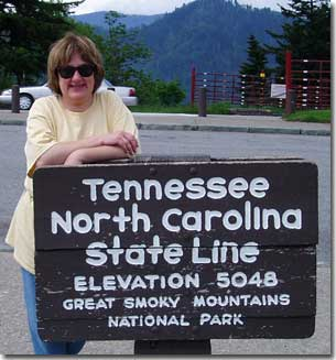 Cizewski in Great Smoky Mountains.