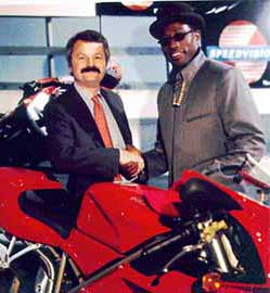 Charles Falco and Wesley Snipes
