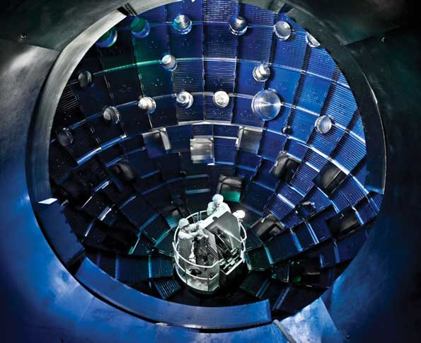 National Ignition Facility Target Chamber