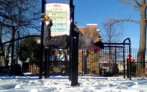 Half Lay Back Lever