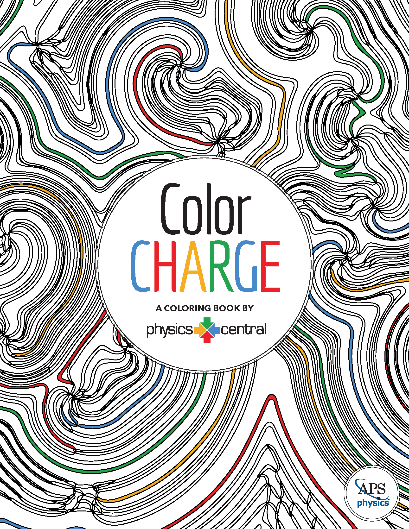 View and download PhysicsCentral's first adult coloring book, Color Charge!